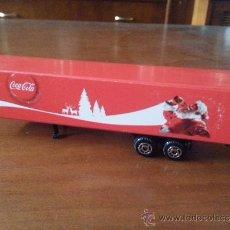 Coleccionismo de Coca-Cola y Pepsi: CONTENEDOR CAMION COCA-COLA - PUBLICIDAD NAVIDAD. Lote 39115480