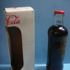 Coleccionismo de Coca-Cola y Pepsi: BOTELLA DE COCA COLA EDICIÓN LIMITADA 125 ANIVERSARIO. INCLUYE CAJA CON HISTORIA DE COCACOLA.. Lote 39246712
