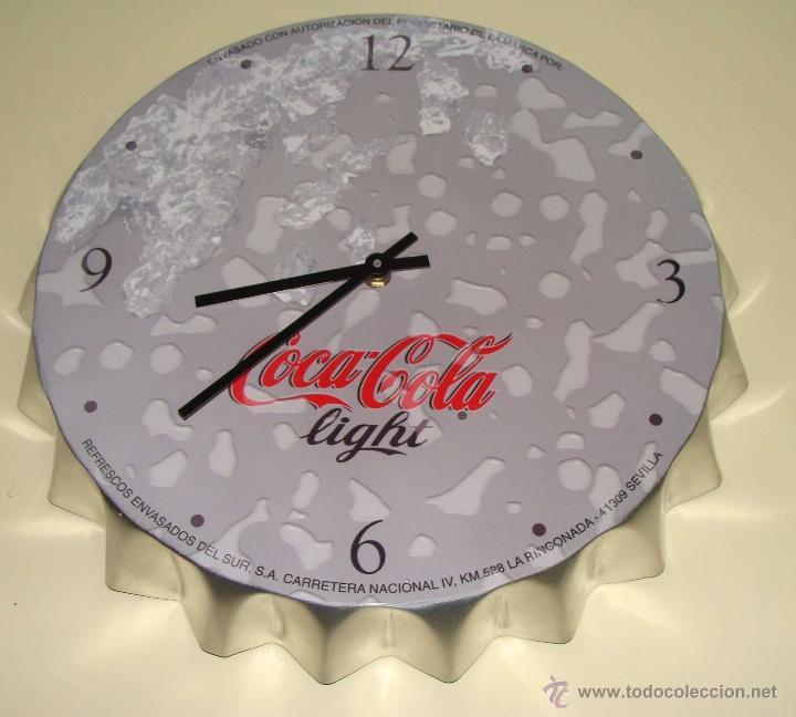 Reloj de pared gigante la imagen se est cargando hombre - Chapa coca cola pared ...