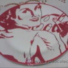 Coleccionismo de Coca-Cola y Pepsi: PLATO DE COCA COLA. MUJERES RETRO VINTAGE COCACOLA. COLECCIÓN.. Lote 39670845