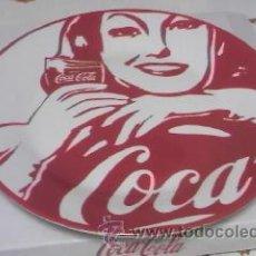 Coleccionismo de Coca-Cola y Pepsi: PLATO DE COCA COLA. MUJERES RETRO VINTAGE COCACOLA. COLECCIÓN.. Lote 39670915