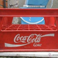 Coleccionismo de Coca-Cola y Pepsi: CAJA PLASTICO - COCA-COLA COKE. Lote 40612343