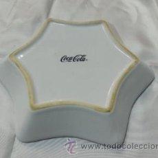 Coleccionismo de Coca-Cola y Pepsi: CENICERA DE CERAMICA COCA.COLA . Lote 39902218