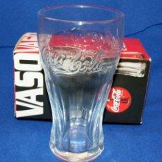Coleccionismo de Coca-Cola y Pepsi: VASO GRANDE PROMOCIONAL DE LA MARCA COCA COLA, CON SU CAJA DE ORIGEN, AÑO 2006.. Lote 40185816