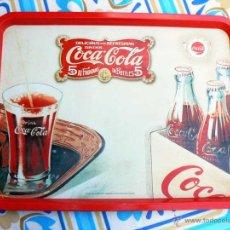 Coleccionismo de Coca-Cola y Pepsi: COCA-COLA BANDEJA METALICA VINTAGE MERCHANDISING COCA COLA. Lote 40960110