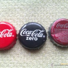 Coleccionismo de Coca-Cola y Pepsi: LOTE 3 CHAPAS KRONKORKEN CAPS TAPPI COCA COLA. ALEMANIA. Lote 41342116