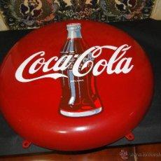 Coleccionismo de Coca-Cola y Pepsi: COCACOLA.-CHAPA METAL PARED. Lote 41472491