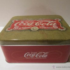 Coleccionismo de Coca-Cola y Pepsi: CAJA LATA COCA COLA. Lote 41503742