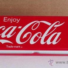 Coleccionismo de Coca-Cola y Pepsi: ESTUCHE METALICO LAPICERO COCA-COLA. Lote 41524646