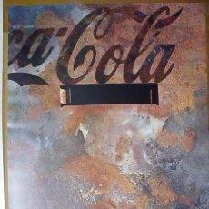 Coleccionismo de Coca-Cola y Pepsi: CARTEL PUBLICITARIO COCA-COLA. (TAMAÑO 70 X 50 APROX). Lote 41734017