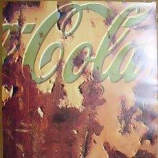 Coleccionismo de Coca-Cola y Pepsi: CARTEL PUBLICITARIO COCA-COLA. (TAMAÑO 70 X 50 APROX). Lote 41734178