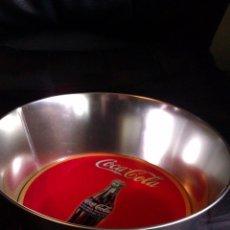Coleccionismo de Coca-Cola y Pepsi: BOL , FUENTE O BANDEJA METALICA COCA COLA GRAN DIAMETRO , VINTAGE. Lote 56888354