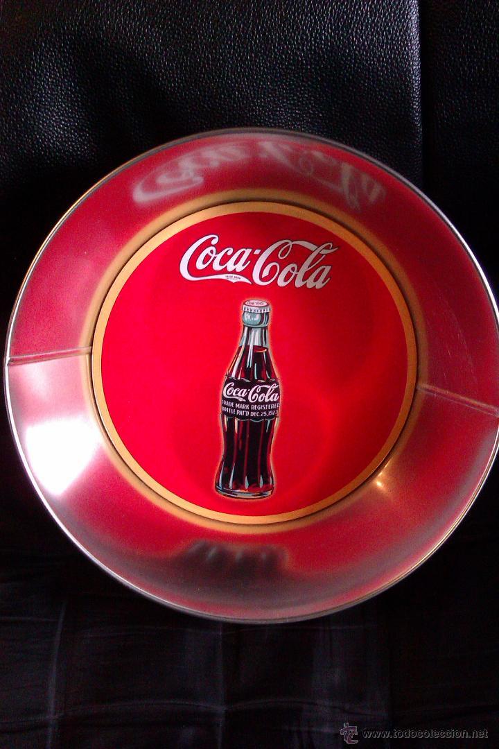 Coleccionismo de Coca-Cola y Pepsi: BOL , FUENTE o BANDEJA METALICA COCA COLA GRAN DIAMETRO , VINTAGE - Foto 2 - 56888354