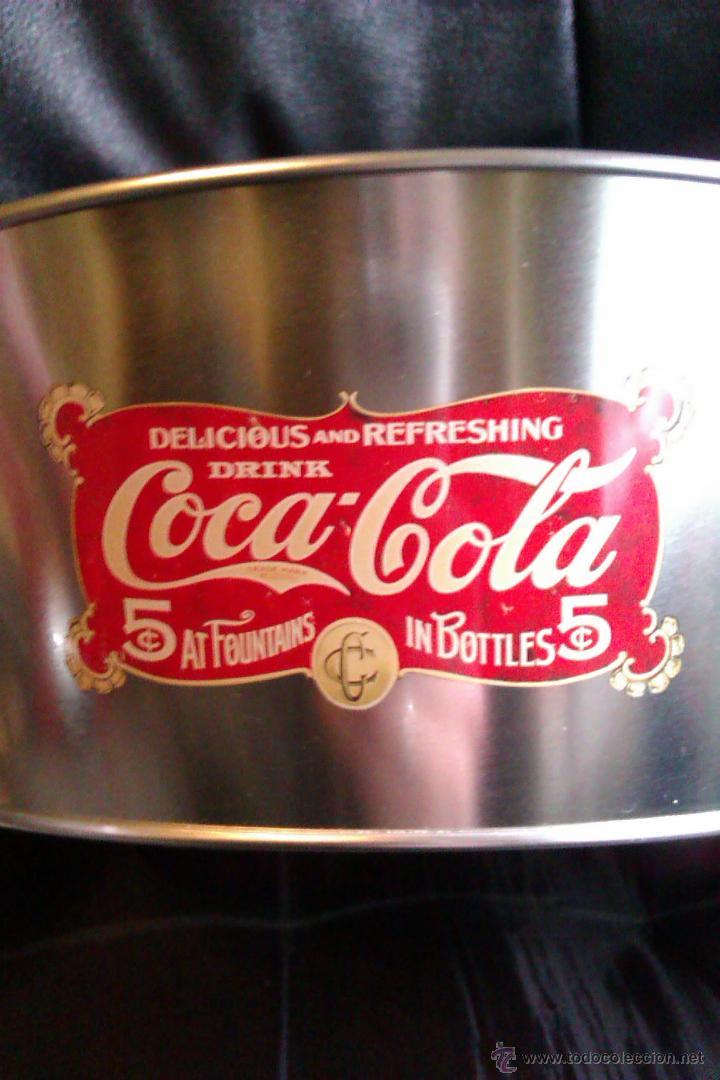 Coleccionismo de Coca-Cola y Pepsi: BOL , FUENTE o BANDEJA METALICA COCA COLA GRAN DIAMETRO , VINTAGE - Foto 3 - 56888354