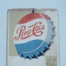 Coleccionismo de Coca-Cola y Pepsi: TERMOMETRO DE PEPSI COLA 1960. Lote 42196920