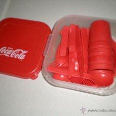 Coleccionismo de Coca-Cola y Pepsi: TUPER PIC NIC COCA COLA SIN USO ALGUNO. Lote 42395237