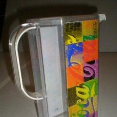 Coleccionismo de Coca-Cola y Pepsi: JARRA GRANDE DE COCA COLA PVC. Lote 42395244