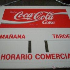 Coleccionismo de Coca-Cola y Pepsi: LETRERO COCA COLA PUERTA. Lote 42489182