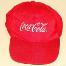 Coleccionismo de Coca-Cola y Pepsi: GORRA CLÁSICA ROJA DE COCA COLA. Lote 42581884