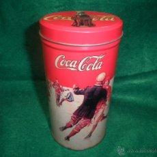 Coleccionismo de Coca-Cola y Pepsi: BOTE LATA DE COCA COLA. Lote 42696806