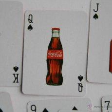 Coleccionismo de Coca-Cola y Pepsi: MINI BARAJA DE CARTAS NAIPES POKER PUBLICIDAD DE COCA COLA. Lote 42713381