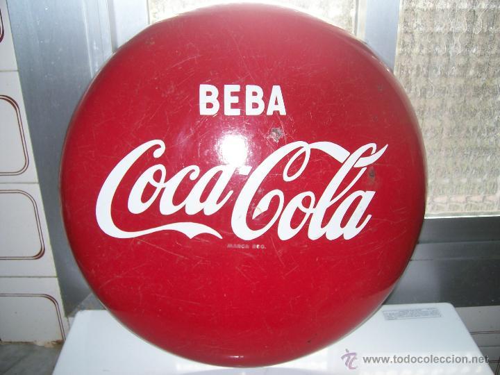 Coca cola antigua chapa de pared no pepsi col vendido - Chapa coca cola pared ...