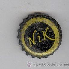Coleccionismo de Coca-Cola y Pepsi: + REFRESCOS NIK, NARANJADA? ANTIGUA CHAPA AÑOS 60 . CANARIAS. Lote 42848396