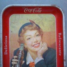 Coleccionismo de Coca-Cola y Pepsi: COCA-COLA,BANDEJA ORIGINAL,AÑOS 50,CUBA,TOME COCA-COLA,ESTADO EL QUE SE VÉ EN LAS . Lote 42899283