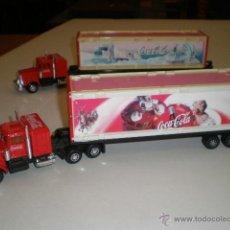 Coleccionismo de Coca-Cola y Pepsi: CAMION DESMONTABLE COCA COLA. Lote 43085546