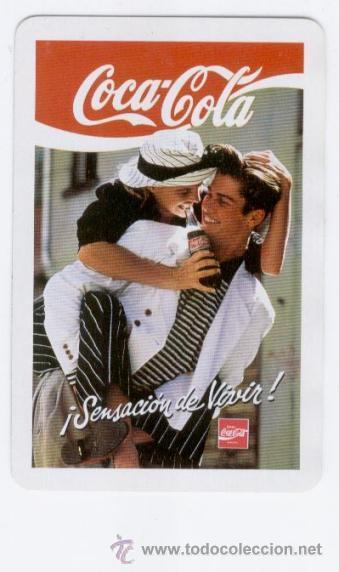 CALENDARIO BOLSILLO ** COCA-COLA ** ¡ SENSACIÓN DE VIVIR ! (1991) (Coleccionismos - Coca-Cola y Pepsi)
