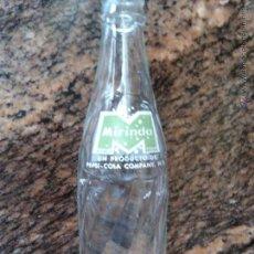 Coleccionismo de Coca-Cola y Pepsi: ANTIGUA BOTELLA MIRINDA LIMON GRUPO PEPSI COLA COMPANY 250 CC SERIGRAFIADA. Lote 43384810