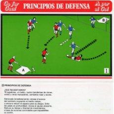 Coleccionismo de Coca-Cola y Pepsi: COCA COLA FICHAS (ENTRENAMIENTO FUTBOL FIFA )MEDIDAS 17X12,5 CM,63 UDS COMPLETO ( SE ESTUDIAN OFERTA. Lote 43459904