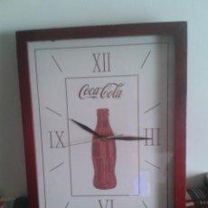 Coleccionismo de Coca-Cola y Pepsi: RELOJ DE PARED COCACOLA TIPO CAJA. Lote 43713317