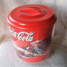 Coleccionismo de Coca-Cola y Pepsi: CUBITERA CON TAPA COCA-COLA. Lote 44689318