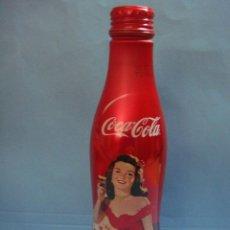 Coleccionismo de Coca-Cola y Pepsi: PRECIOSA BOTELLA DE ALUMINIO DE COCACOLA. BOTELLA COCA COLA CON TAPÓN DE ROSCA. SIN ABRIR.. Lote 44970248