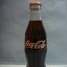 Coleccionismo de Coca-Cola y Pepsi: BOTELLA COCACOLA SUECIA. BOTELLA DE COCA COLA DE CRISTAL. 250CL. SIN ABRIR. CONTENIDO ORIGINAL. Lote 45088589