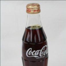Coleccionismo de Coca-Cola y Pepsi: BOTELLA DE COCA COLA 250 ML - MUNDIAL DE FÚTBOL DE COREA 2002 - LLENA - MEDIDAS 19,5 CM - RAREZA. Lote 45243331