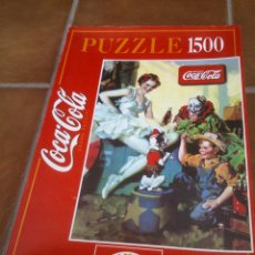 Coleccionismo de Coca-Cola y Pepsi: PUZZLE COCA COLA ANTIGUO.1500 PIEZAS.85X60CM. Lote 45251374