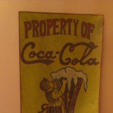 Coleccionismo de Coca-Cola y Pepsi: MUY ANTIGUO CARTEL DE COCA COLA .( HELADO ) ARGENTINA AÑOS 50 / 60.. Lote 215752727