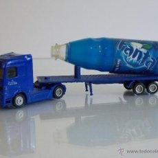 Coleccionismo de Coca-Cola y Pepsi: CAMIÓN DE FANTA BEBIDA DE PUBLICIDAD ESCALA 1:87. Lote 45436434