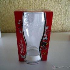 Coleccionismo de Coca-Cola y Pepsi: VASO MCDONALDS PULSERA DE GOMA BLANCA COCA-COLA EUROCOPA FUTBOL EURO 2012. Lote 53735985