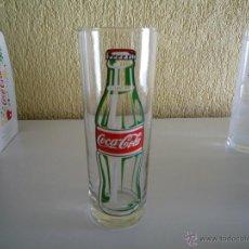 Coleccionismo de Coca-Cola y Pepsi: VASO DE CRISTAL AÑOS 90 DE COCA COLA . Lote 45466083