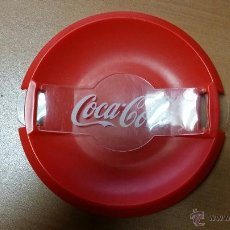 Coleccionismo de Coca-Cola y Pepsi: PLATERA DE CAMBIO DE COCA COLA. DE PLÁSTICO . Lote 45607063