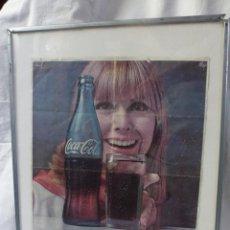 Coleccionismo de Coca-Cola y Pepsi: CARTEL HOJA DE PUBLICIDAD, COCA COLA. Lote 45747067