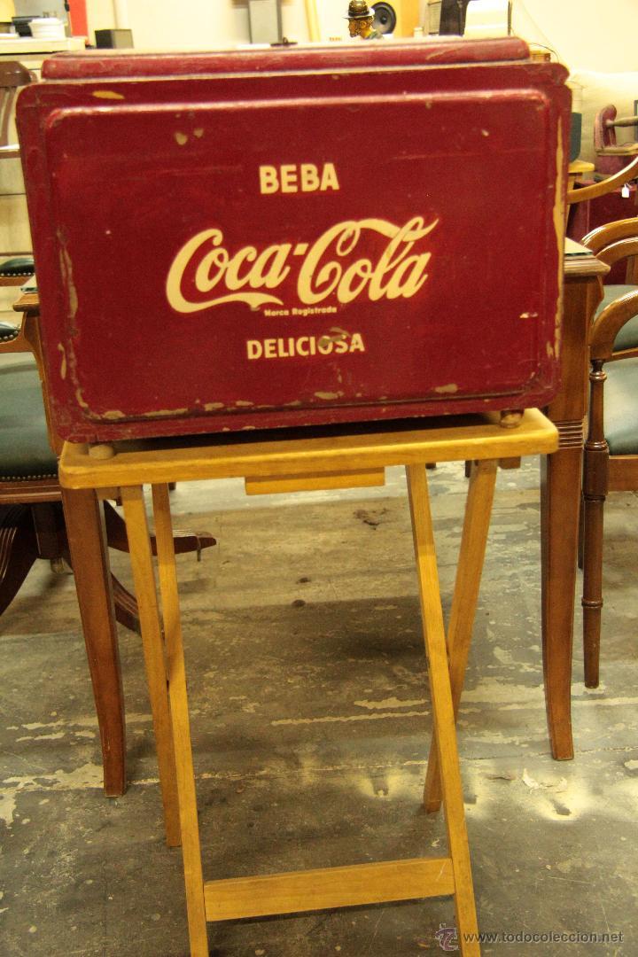 ANTIGUA NEVERA DE COCA COLA, ORIGINAL, (Coleccionismo - Botellas y Bebidas - Coca-Cola y Pepsi)