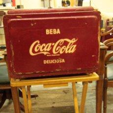 Coleccionismo de Coca-Cola y Pepsi: ANTIGUA NEVERA DE COCA COLA, ORIGINAL,. Lote 45806143