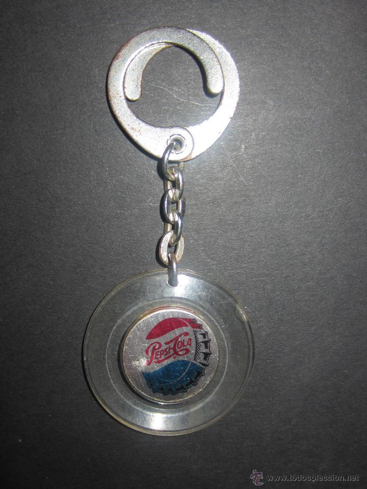 LLAVERO PEPSI.ANTIGUO. (Coleccionismo - Botellas y Bebidas - Coca-Cola y Pepsi)