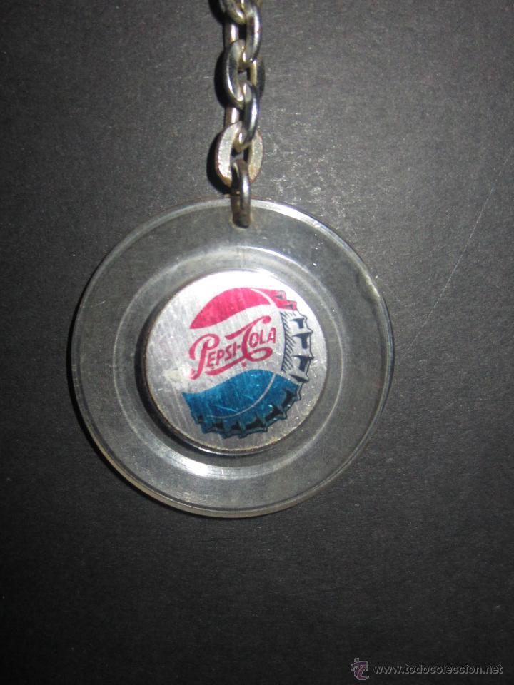 Coleccionismo de Coca-Cola y Pepsi: Llavero PEPSI.Antiguo. - Foto 2 - 46049640