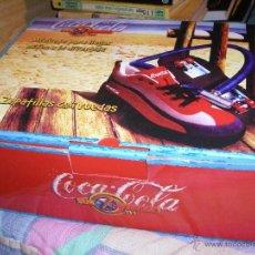 Coleccionismo de Coca-Cola y Pepsi: COCA COLA - ZAPATILLAS CON RUEDAS, TALLA 34 - SUN EXPERIENCE - (EN CAJA). Lote 46114105