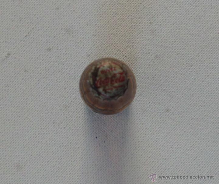 Coleccionismo de Coca-Cola y Pepsi: BOTELLA COCA COLA ANTIGUA DE CRISTAL PEQUEÑA 6,5 CM - Foto 3 - 46529990